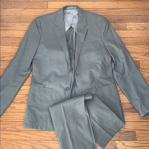 Theory Brown/Grey suit 36